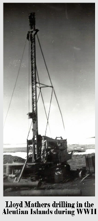 Our history of well drilling